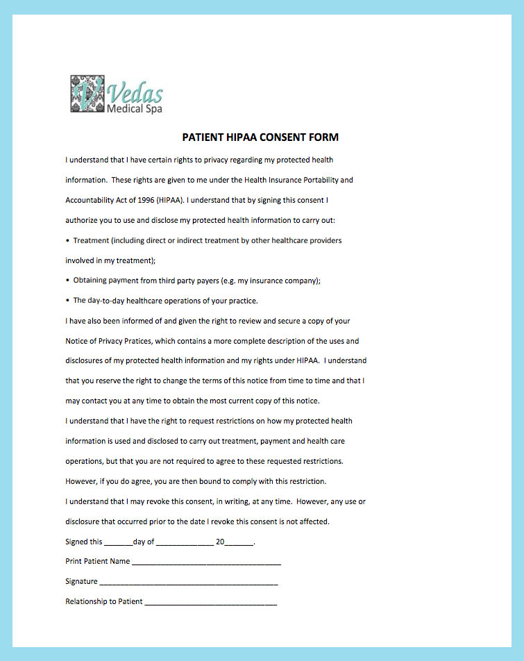 New Patient Forms - Vedas Medical Spa And Wellness Center