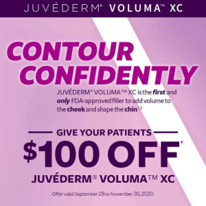 Juvederm Voluma $100 Offer