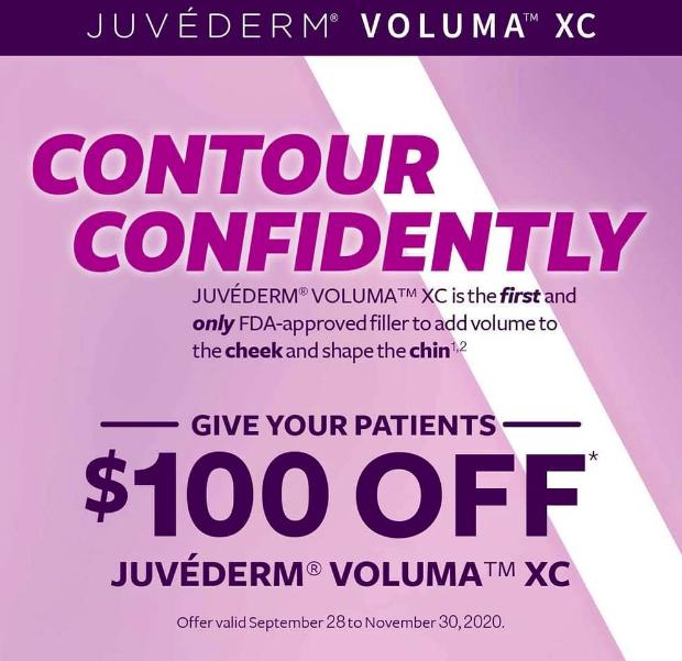 Juvederm Voluma $100 Offer