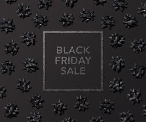 Black Friday Seasonal Sale